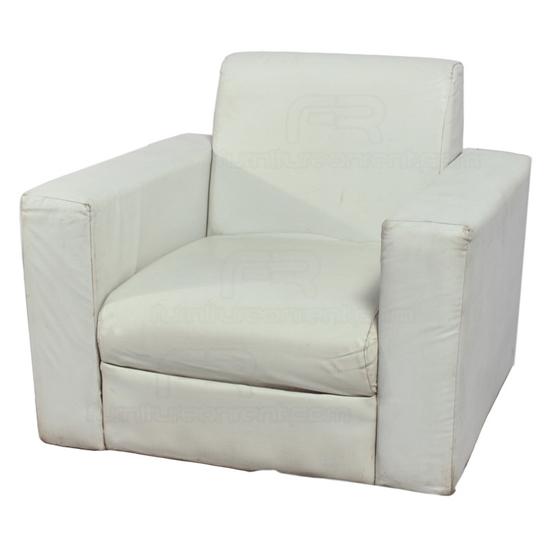 Superbe Picture Of VIP Single Seat Sofa   White