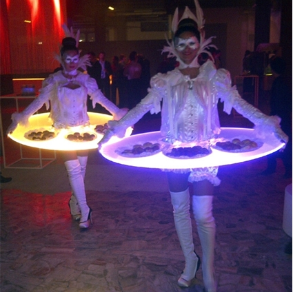 Picture of LED Serving Table