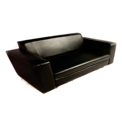 Picture of VIP Three Seat Sofa - Black